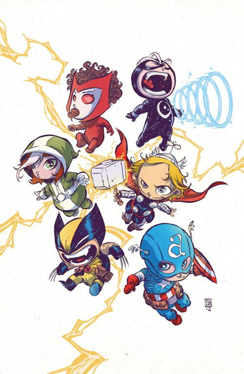 Marvel Babies - What an ART