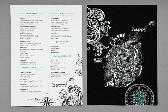 Art of the Menu: Happy