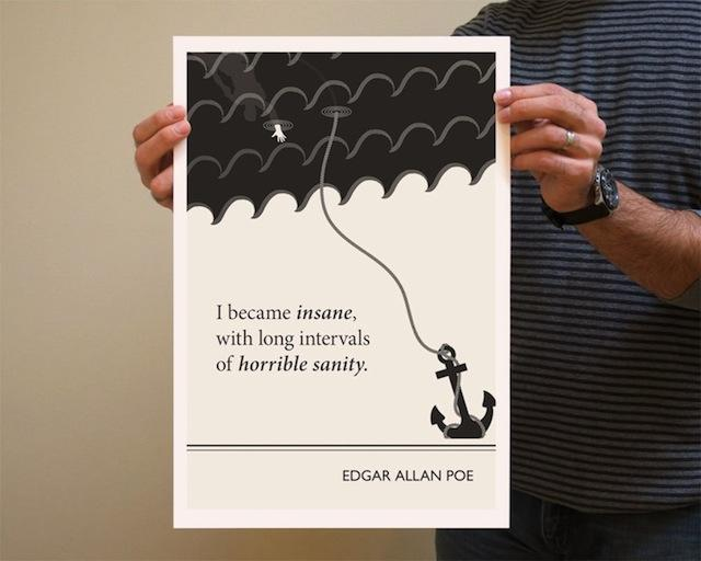 Litterature Quote Illustrations2 – Fubiz™