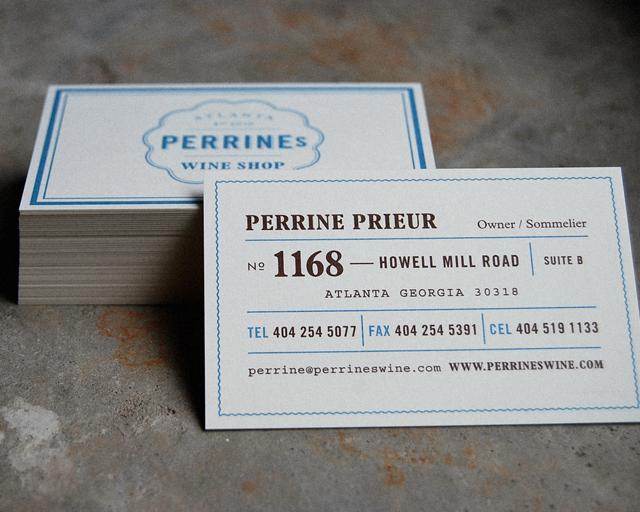 Perrine's Wine Shop : Alvin Diec