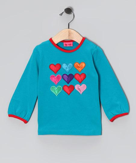 Blue Heart Heddy Tee - Infant & Toddler | Daily deals for moms, babies and kids