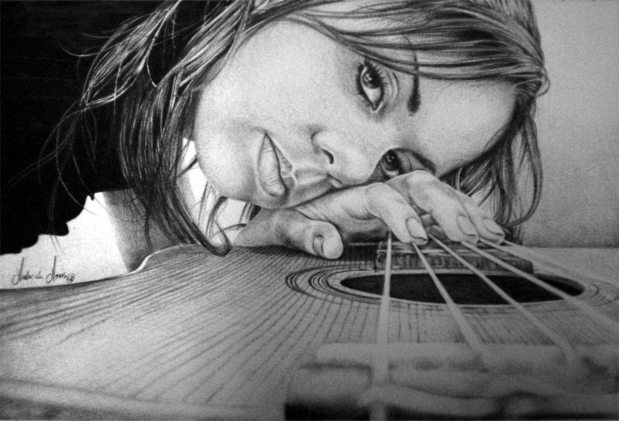 Ballpoint - Girlfriend by ~andre-assis