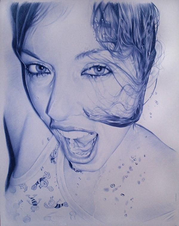 Amazing Ballpoint Pen Art -