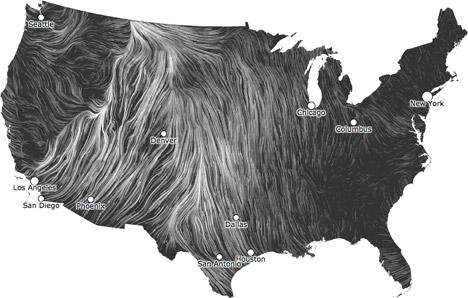 Going with the Wind: Data Visualization by Hint.fm - Core77