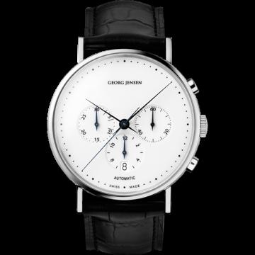 KOPPEL Automatic Chronograph With White Dial | Shiro to Kuro