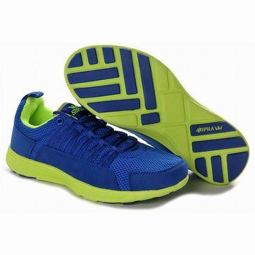 cheap supra owen green and royal blue run shoes