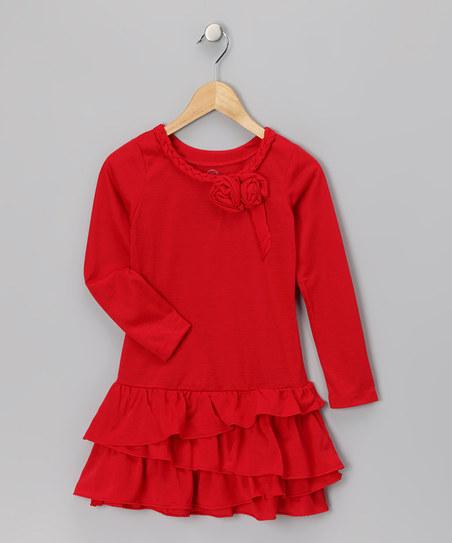 Red Daisy Breakfast at Tiffany's Dress | Daily deals for moms, babies and kids