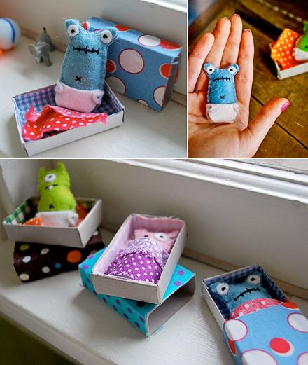 Molly Moo – a mums blog devoted to children's crafts, activities, events & fab finds » matchbox monsters – shhhh