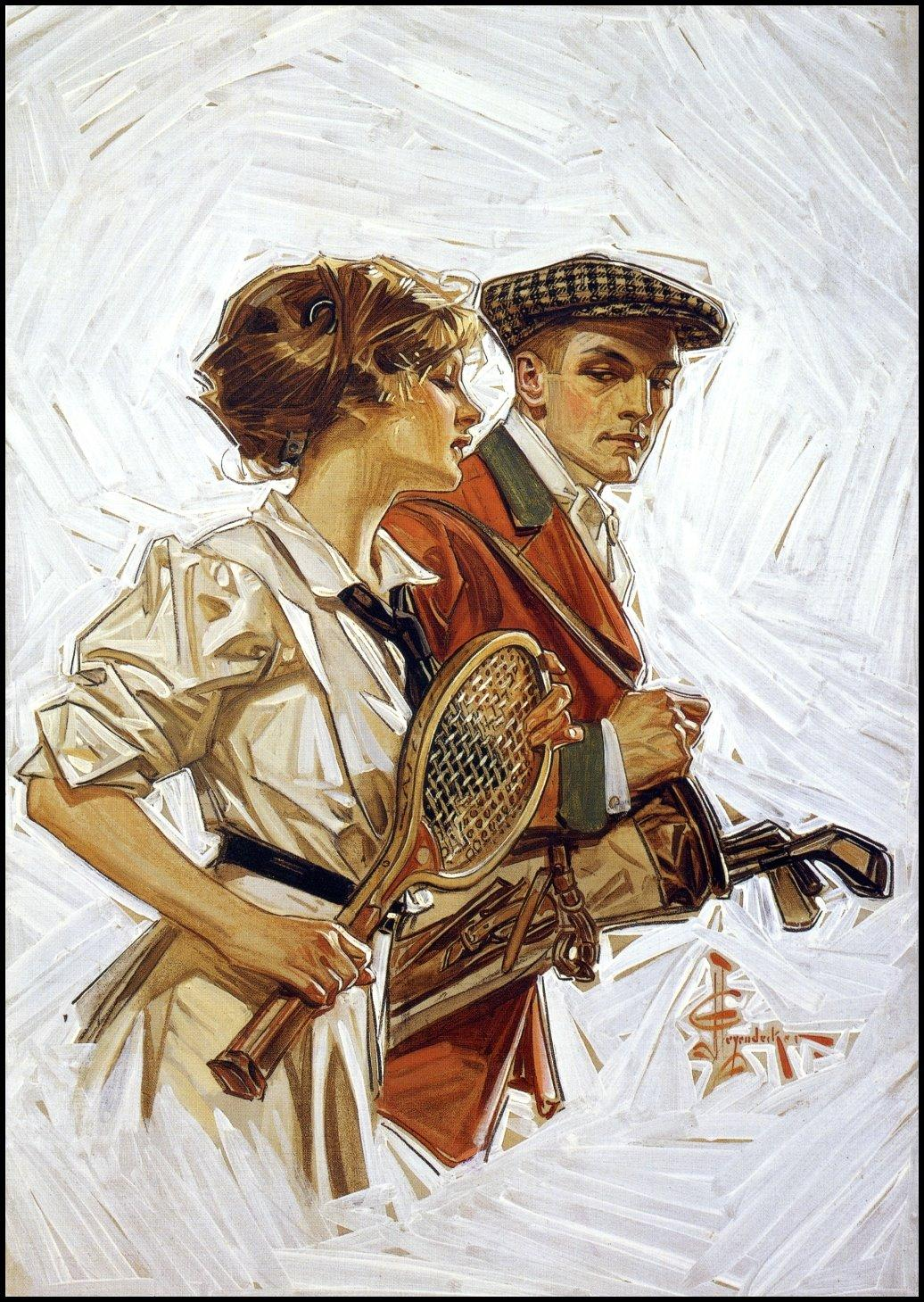 A Different Drummer: J. C. Leyendecker: Early 20th century Illustrator