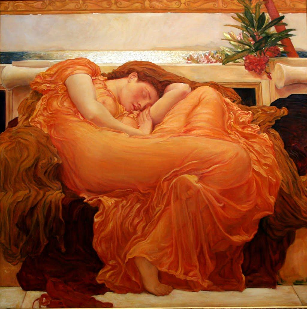 large size paintings: Frederic LEIGHTON