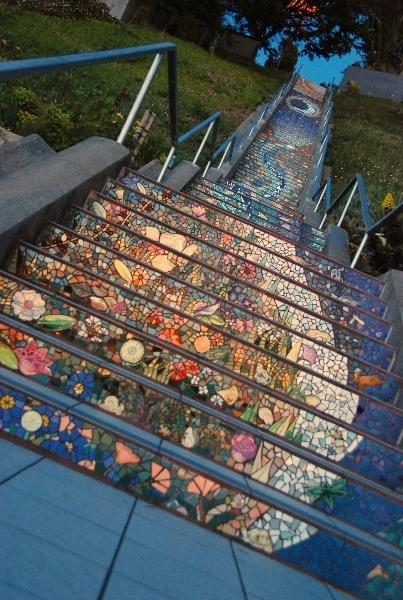 The 16th Avenue Tiled Steps Project in San Francisco | Just Imagine – Daily Dose of Creativity