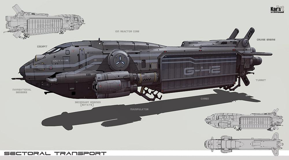 Sectorial Transport by KaranaK - CGHUB