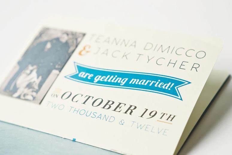 FPO: Jack & Teanna Wedding Invitation