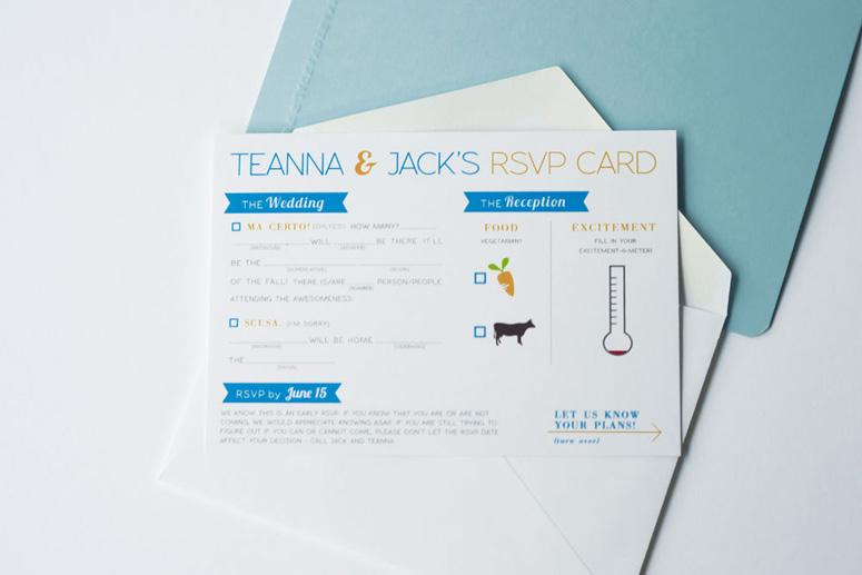 FPO: Jack & Teanna Wedding Invitation