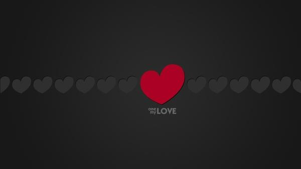 minimalistic,love love minimalistic red grey hearts 1920x1080 wallpaper – Grey Wallpapers – Free Desktop Wallpapers