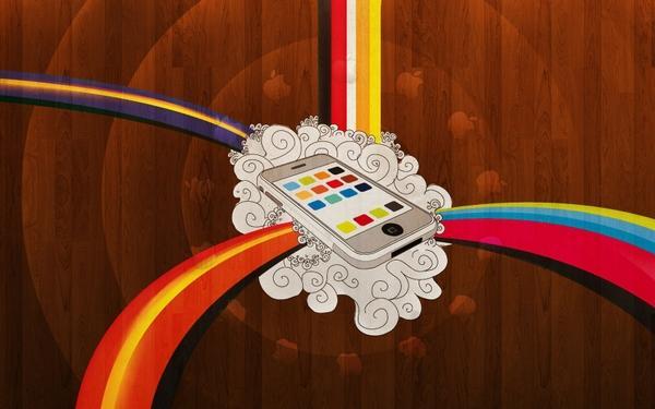 vector,Apple Inc. apple inc vector iphone 1680x1050 wallpaper – Apple Wallpapers – Free Desktop Wallpapers
