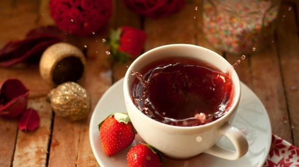 food,tea tea food strawberries splashes 1920x1080 wallpaper – Strawberries Wallpapers – Free Desktop Wallpapers
