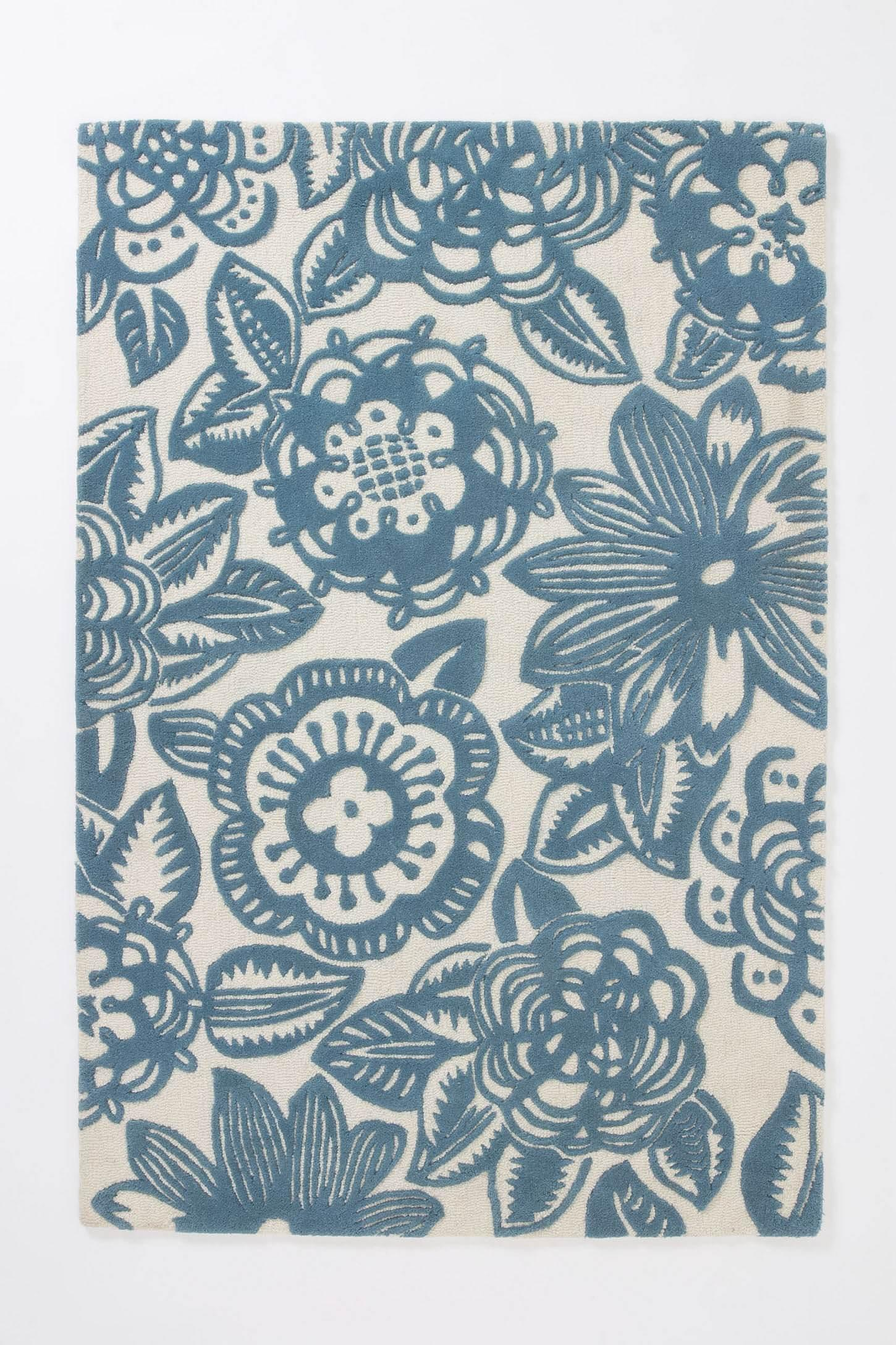Whorled Trapunto Rug - Anthropologie.com