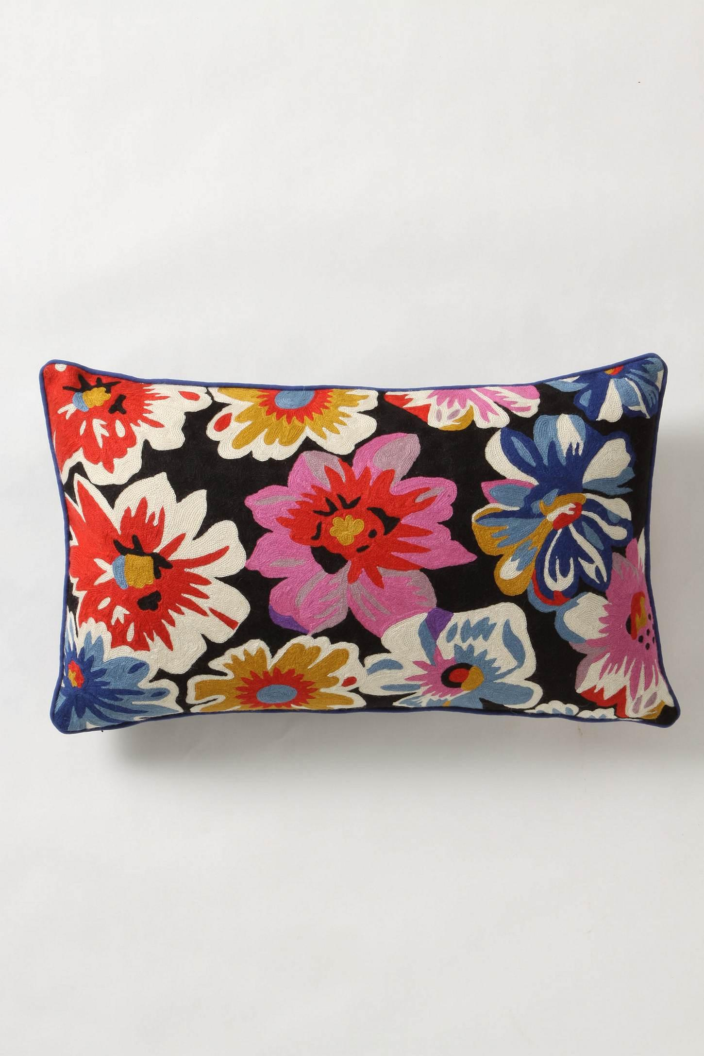 Finishing Flourish Pillow - Anthropologie.com
