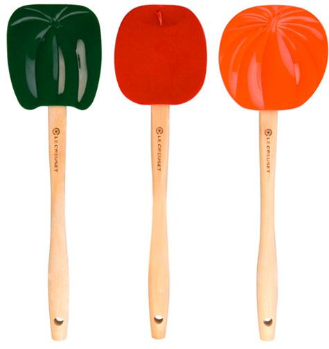 New From Le Creuset: Silicone Garden Spatula Spoons | The Kitchn