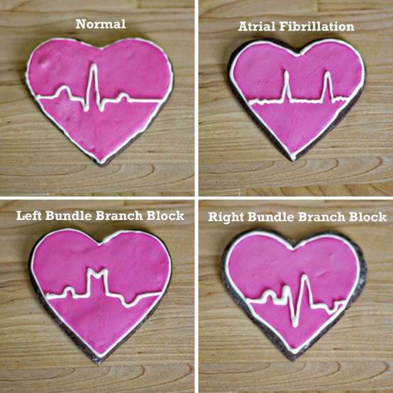 Cookie crushes / As a former nursing student, I absolutely 'heart' these!!! <3 :D (Sweet Tooth)