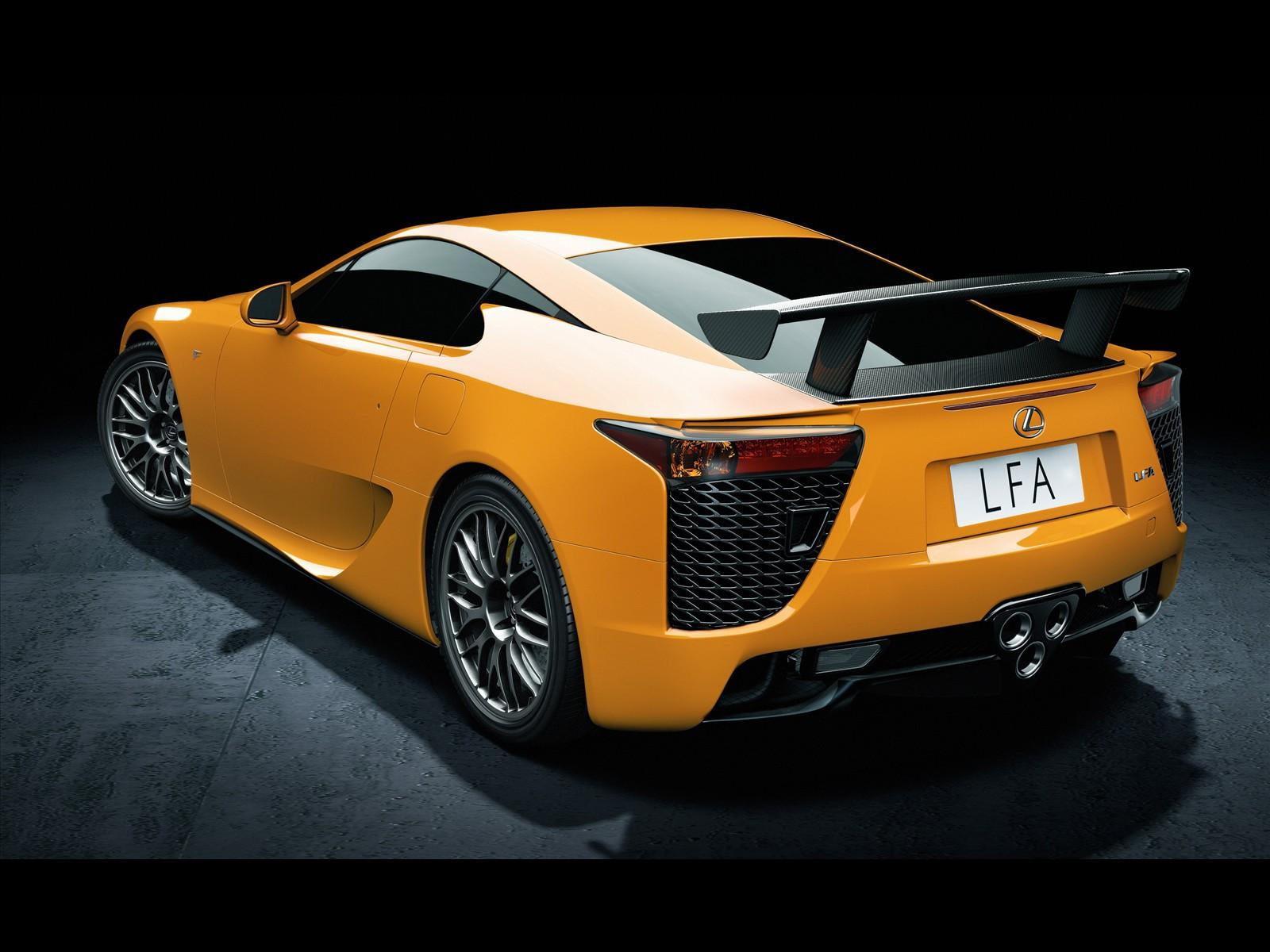 Cars Wallpapers - Lexus LFA Nurbyrgring Rear Wallpapers ! HD Wallpapers