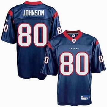 nfl houston texans andre johnson jersey 80 navy blue jersey online p16108
