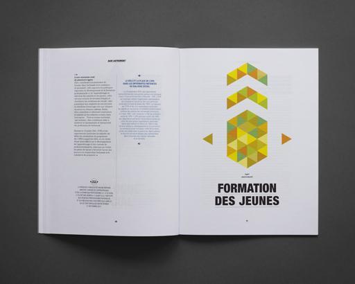 Rapport annuel de l'UPA. Par un design inventif, porter haut le message de l'organisation : «penser autrement» | MC SaatchiCorporate
