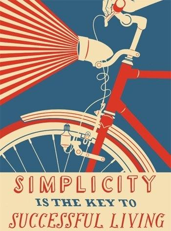 Simplicity is the Key to Successful Living — Chris Abraham — Designspiration