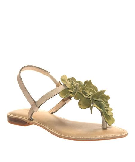 New Light Green Petals Sandal | Daily deals for moms, babies and kids