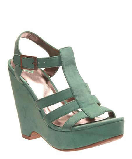 Grass Green Razia Wedge | Daily deals for moms, babies and kids