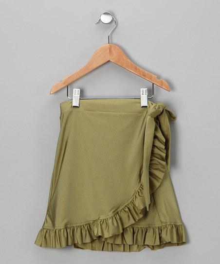 Green Swim Skirt | Daily deals for moms, babies and kids