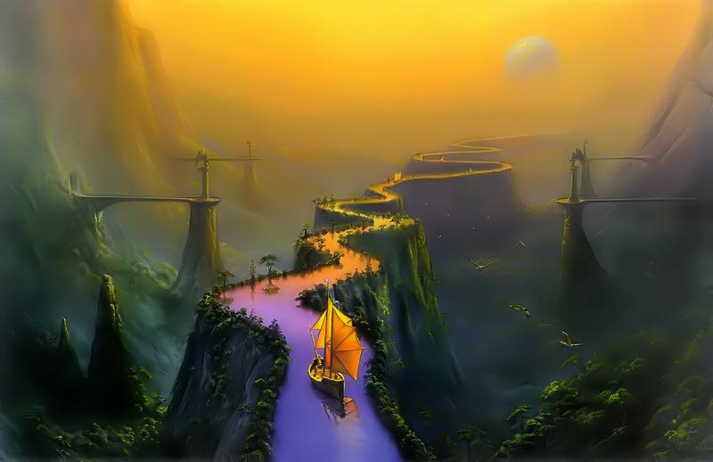 fantasy,boat fantasy boat bridges 1400x907 wallpaper – fantasy,boat fantasy boat bridges 1400x907 wallpaper – Fantasy Wallpaper – Desktop Wallpaper