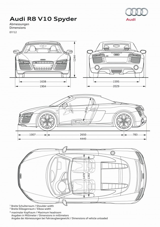 Audi / R8 Spyder (2013) - R8 Spyder (2013) - Audi - Gallery - More than 200 000 pictures of cars, project designers, motorcycle, project exhibitions, museums, sketches, drawings designers - Photo Gallery - More than 200 000 pictures of cars, project designers, Motorcycle exhibition projects, museums, sketches, drawings designers - Cardesign.ru