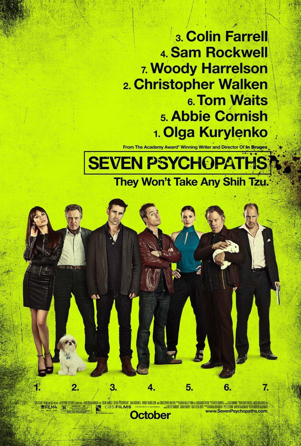 Movie Poster Inspiration: Seven Psychopaths | Daily Inspiration