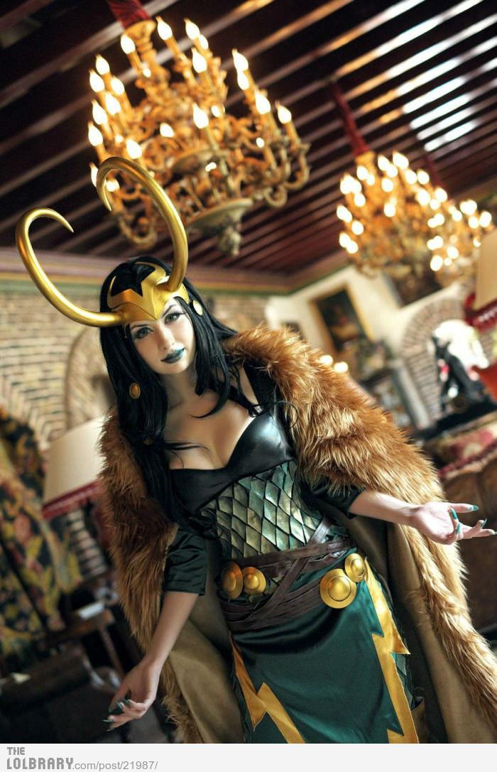 Female Loki Cosplay | The Lolbrary - New Funny Random Pictures Added Daily