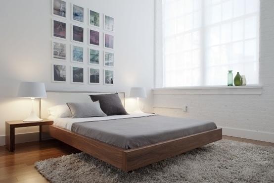 Basic Space / grey on grey. #bedroom #loft #decor