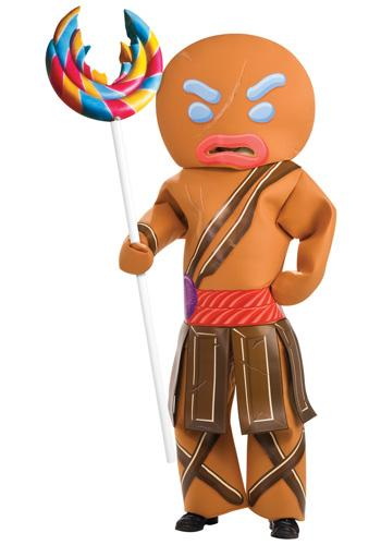 Gingerbread Man Warrior Costume - Shrek Forever After Costume Ideas