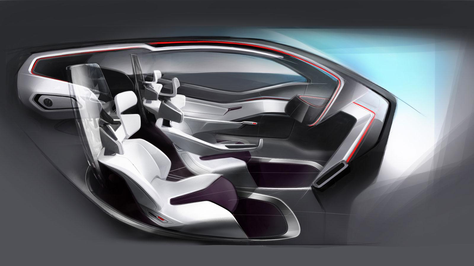 Volkswagen Trimaran Concept - Interior - Car Body Design