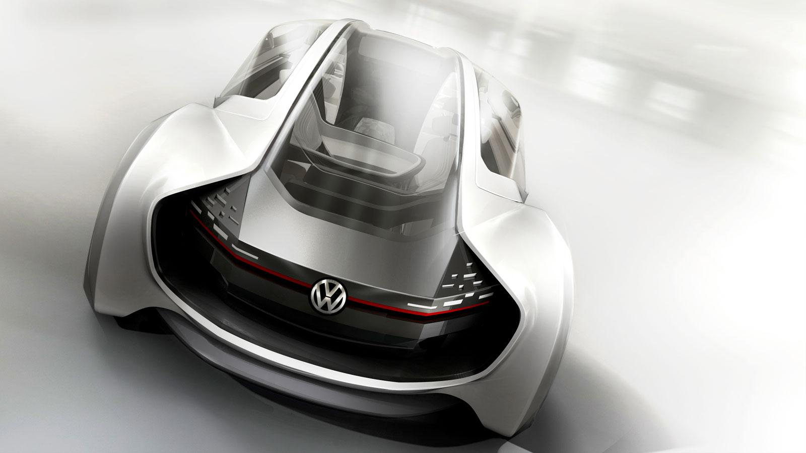 Volkswagen Trimaran Concept - Car Body Design