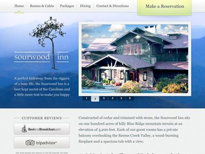 Sourwood Inn Website by Matthew Smith