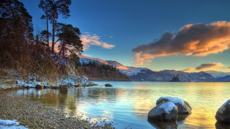 landscapes,sunsets sunsets landscapes winter lakes 1920x1080 wallpaper – landscapes,sunsets sunsets landscapes winter lakes 1920x1080 wallpaper – Lakes Wallpaper – Desktop Wallpaper