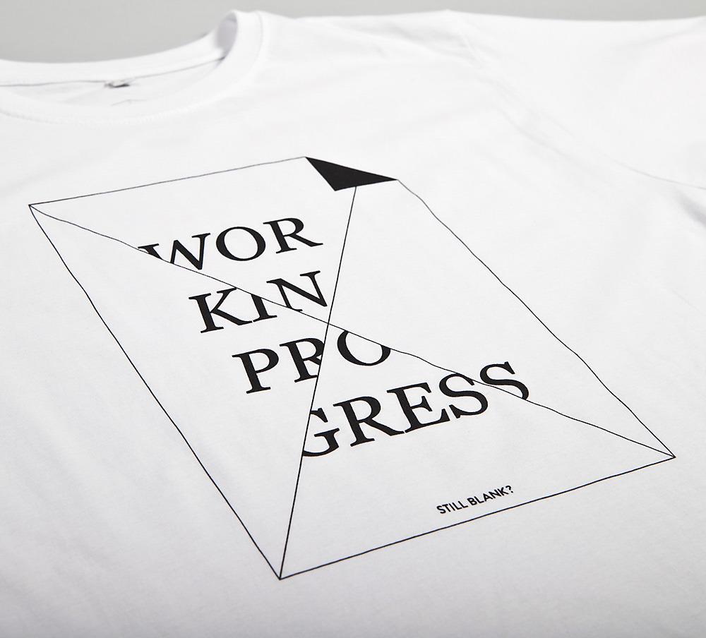 WORK IN PROGRESS - white shirt | NATRI - Shirt Label - Shop