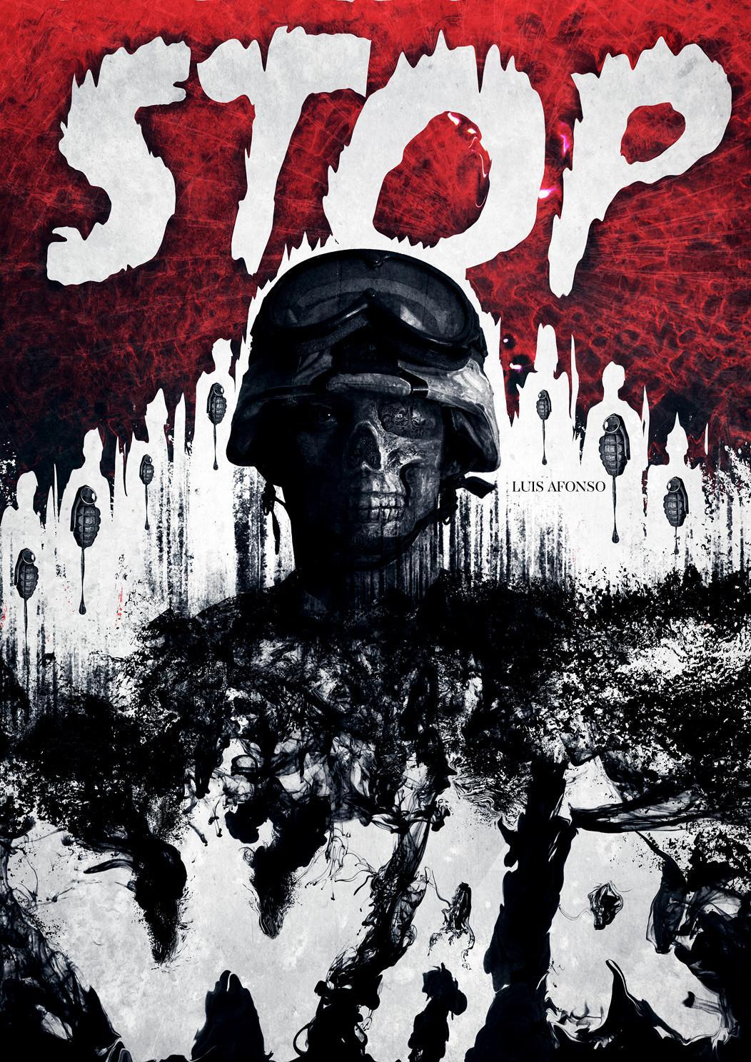 Stop War by shadowtuga | Shadowness