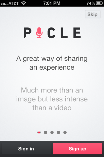 First Run Slideshow from Picle › PatternTap