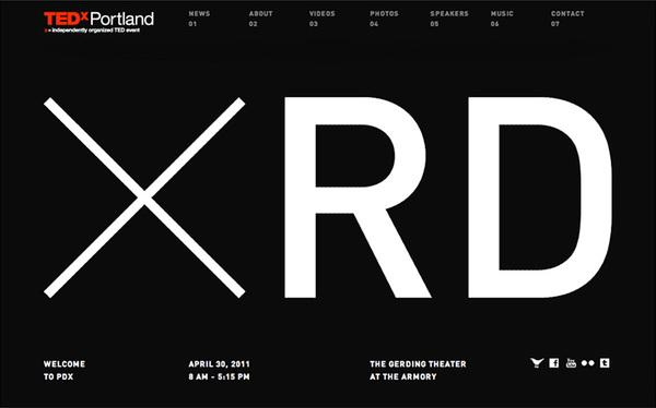 Web / 09_TEDx Site 01 — Designspiration