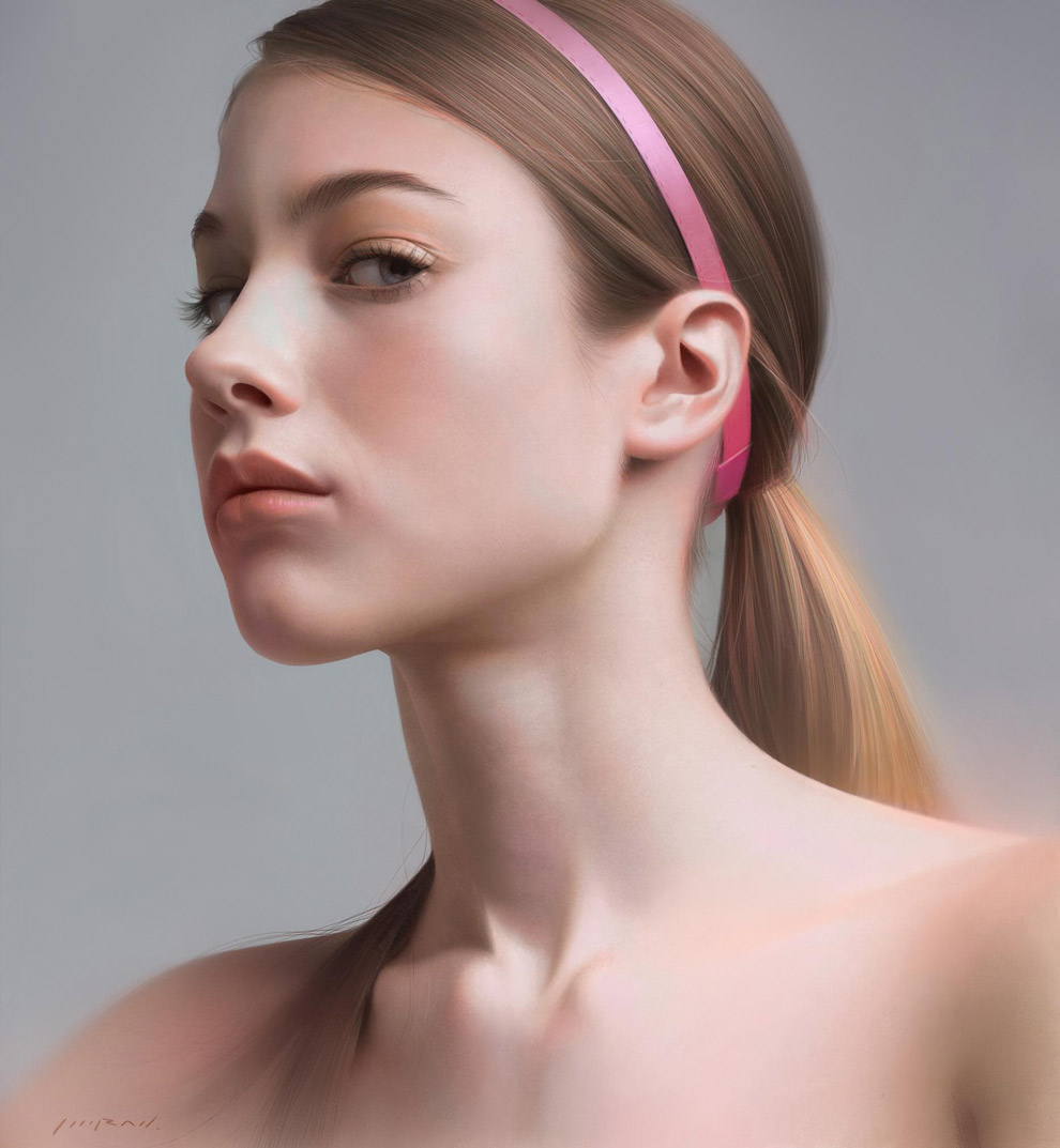 Impressive 2D Digital Painting by LINRAN - What an ART