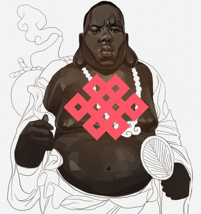 Notorious B.U.D.D.H.A. Art Print by Sachin Teng | Society6