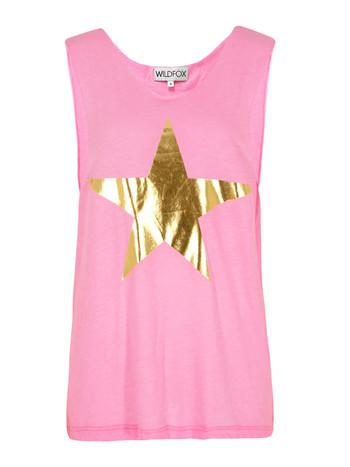 Wildfox Cut Off Barbarella Top at Coggles.com online store