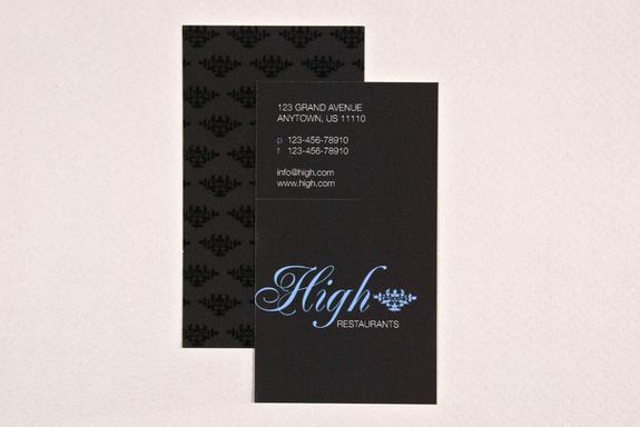 Elegant Business Card Template Sample | Inkd